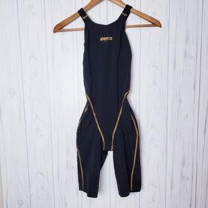 Speedo LZR Pro Tech Swim Suit Black